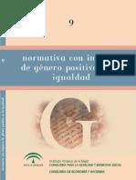 Normativa Con Impacto de Genero Positivo en La Igualdad