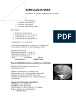 Semiologia Osea