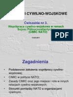 Współpraca cywilno-wojskowa w ramach Sojusz Północnoatlantyckiego (CIMIC NATO)