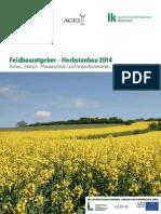 Feldbauratgeber Herbst 2014