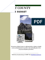 2015 Routt County budget