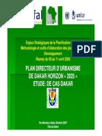 Présentation Pdu Dakar Horizon 2025