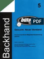 Backhand 2002/2003 Nr. 1