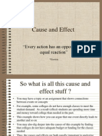 7. Cause-Effect Writing