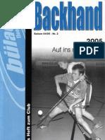 Backhand 2004/2005 Nr. 2