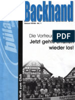 Backhand 2005/2006 Nr. 1