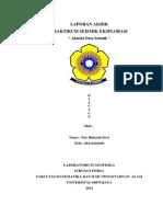 Laporan Praktikum Akuisisi Data Seismik
