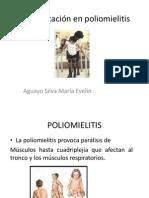Rehabilitación en Poliomielitis