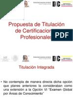 Titulacion Certificaciones Profesionales