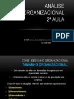 Análise Organizacional 2 e 3 Aula