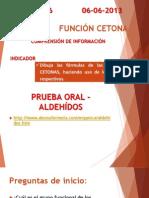 Cetonas Prueba