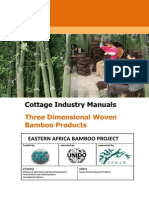 Smallmanual3-Vb Cottage Industry Manuals - Three Dimensional Woven Bamboo Products