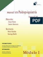 Clasificación en paidopsiquiatria. Conceptos y enfoques