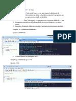 Compilar Un Programa de C-Cpp