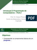 Introdução à Programação de Computadores-parte1