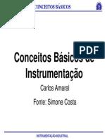 Conceitos Basicos de Instrumetação- 2014 -Profª Simone