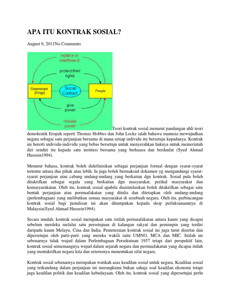 Kontrak Sosial Docx