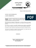 Carta Despacho