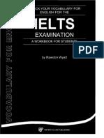Check Your Vocabulary for IELTS Examination - Wyatt