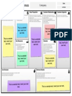 Business Model Canvas Template (ppt)