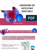Seminario - Sindrome de Intestino irritable