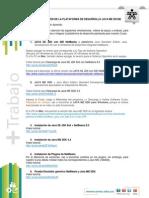 Conformacion Plataforma Java ME en NetBeans v5
