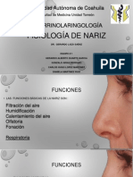 Fisiología de Nariz