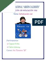 Capeta Educacion Vial