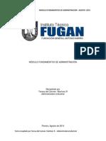 FUGAN Teorías Administrativas Modulo1