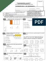 Prueba Pac 3 Matematica 2014