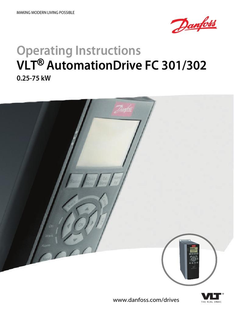 inverter danfoss vlt 3006 manual