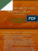 Standar Akuntansi Pemerintahan