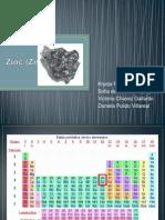 Zinc (Zn) Exposicion Quimica