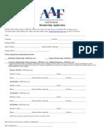 AAFLC Membership App
