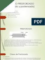 CONCRETO PRESFORZADO (pretensado y postensado).pptx