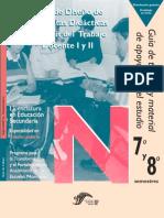 Taller de Diseño de Propuestas Didacticas I y II