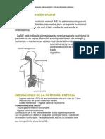 CUIDADOS Nutrición enteral