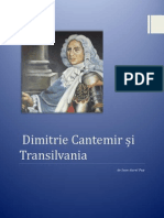 Dimitrie Cantemir și Transilvania