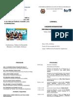 ENCUENTRO INTERUNIVERSITARIO DE PROFESIONALIZACION Y DESARROLLO HUMANO