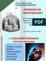 1cualidadesdelinvestigador-mds-110304141312-phpapp01.ppt