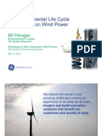 5 . 1 Environmental Life C a of Wind Power