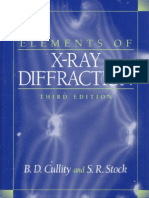 Elements of X-ray Diffraction - b. d. Cullity Copy