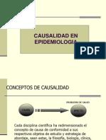 Causalidad en Epidemiología. Infectología v-9 Ppt