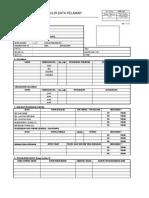 Formulir Data Pelamar 2
