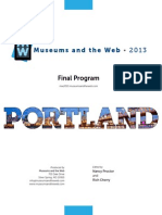 Museums and the Web