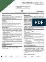 Calibrants Et Contrôles Pour APOLIPOPROTEINES A1-B2