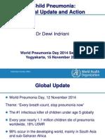 Materi WHO World Pneumonia Day, Jogja 15 Nov 14