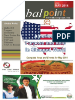 Global Point Current Affais Magazine - May, 2014