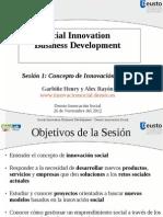 Social Innovation Business Development
