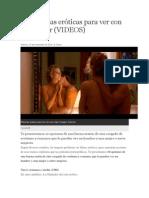 10 Películas Eróticas Para Ver Con Una Mujer